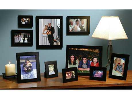 Howard Miller Gift Frames Boxed 10 Piece Black Set HOW655135
