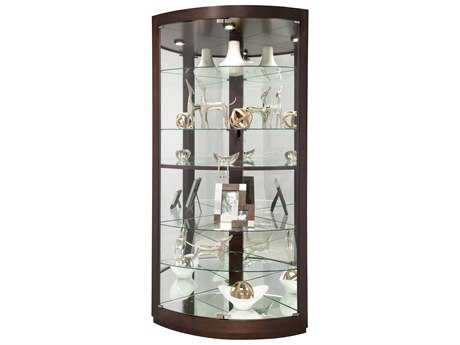 Howard Miller Gillian Espresso Curio Cabinet HOW680603