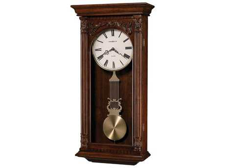Uttermost Harrington 36 Inch Wooden Wall Clock Ut06671