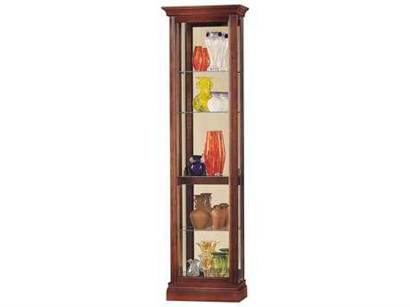 Howard Miller Gregory Windsor Cherry Curio Cabinet HOW680245