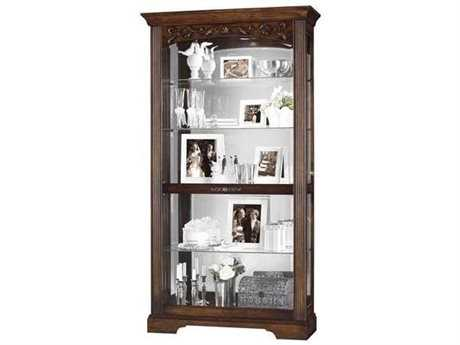 Howard Miller Hartland Hampton Cherry Curio Cabinet HOW680445