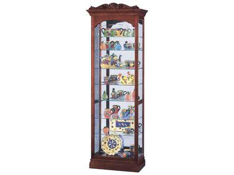 Howard Miller Hastings Windsor Cherry Curio Cabinet HOW680342