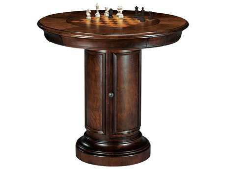 Howard Miller Ithaca Hampton Cherry 39'' Round Pub & Game Table HOW699010