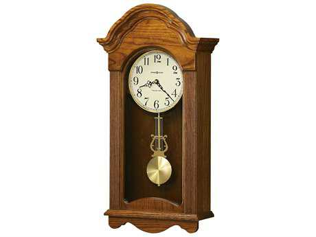 Howard Miller Jayla Legacy Oak Chiming Wall Clock HOW625467