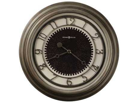 Howard Miller Kennesaw Antique Nickel Oversized Gallery Wall Clock HOW625526