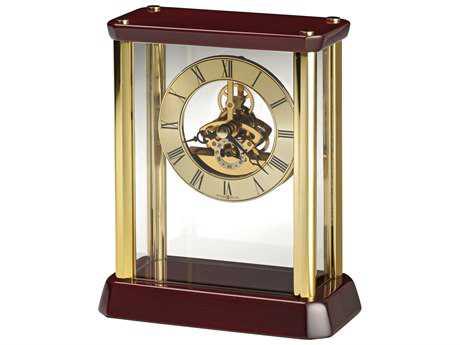 Howard Miller Kingston Rosewood Hall Table Clock HOW645793