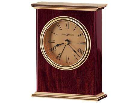 Howard Miller Laurel Rosewood Hall Carriage Style Alarm Clock