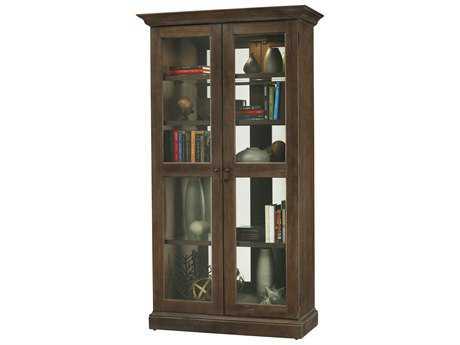 Howard Miller Lennon Aged Umber Display Cabinet