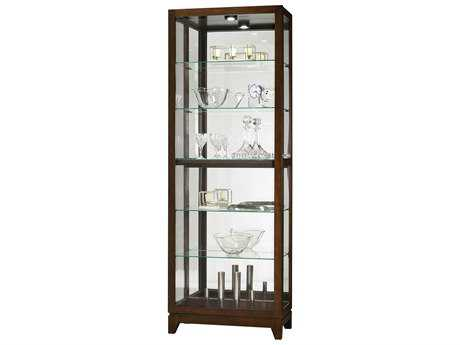 Howard Miller Luke Espresso Curio Cabinet HOW680588