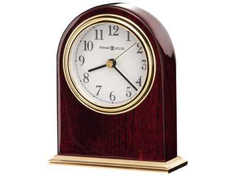 Howard Miller Monroe Rosewood Hall Table Clock