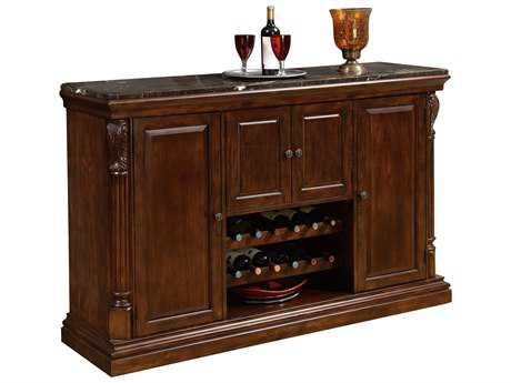 Howard Miller Niagara Rustic Cherry Bar Console HOW693006