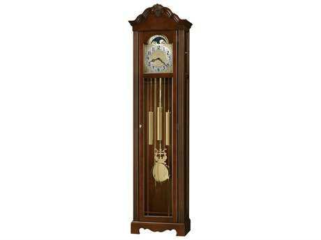 Howard Miller Nicea Saratoga Cherry Floor Clock