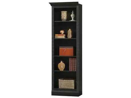 Howard Miller Oxford Antique Black Left Return Bookcase