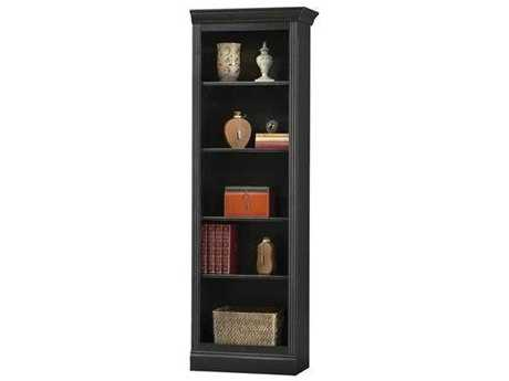 Howard Miller Oxford Antique Black Right Return Bookcase