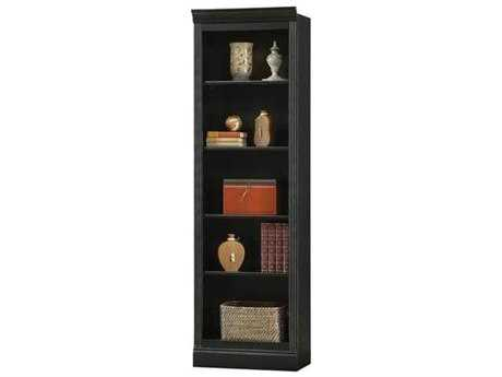 Howard Miller Oxford Antique Black Bunching Bookcase