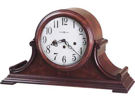 Howard Miller Palmer Windsor Cherry Tambour Mantel Clock
