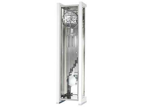 Howard Miller Park Avenue II Limited Edition Gloss White Floor Clock