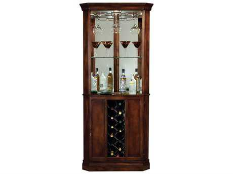 Howard Miller Piedmont Rustic Cherry Wine & Bar Cabinet HOW690000