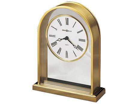 Howard Miller Reminisce Brass Clock