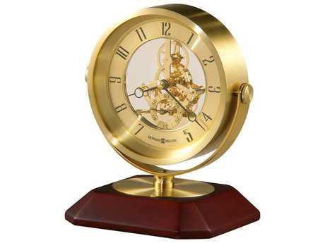 Howard Miller Saloman Satin Rosewood Clock