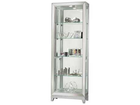 Howard Miller Shayne Silver Curio Cabinet HOW680590