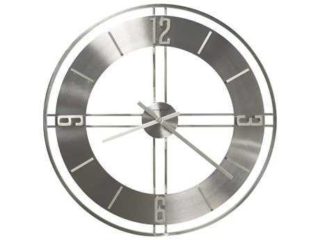 Howard Miller Stapleton Satin Nickel Oversized Gallery Wall Clock HOW625520