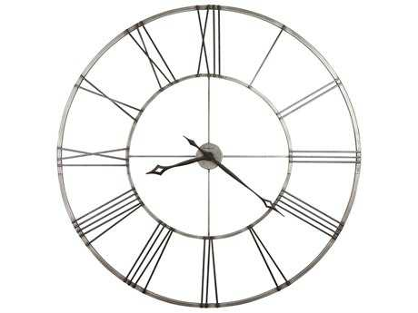 Howard Miller Stockton Brushed Aged Nickel Oversized Gallery Wall Clock HOW625472