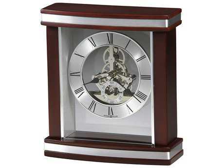 Howard Miller Templeton Satin Rosewood Carriage Clock HOW645673