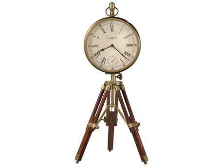 Howard Miller Time Surveyor Mantel Rustic Cherry Clock