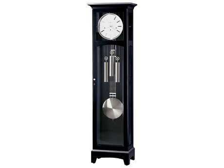 Howard Miller Urban III Black Satin Floor Clock HOW660125