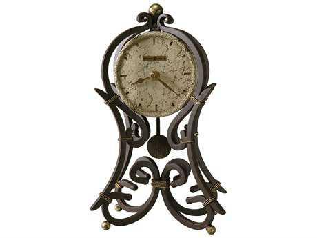 Howard Miller Vercelli Mantel Aged Iron Clock