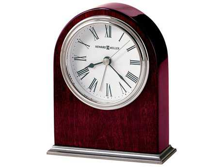 Howard Miller Walker Rosewood Hall Table Alarm Clock