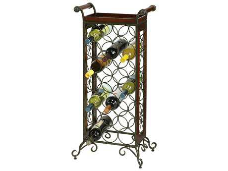 Howard Miller Butler Warm Gray Wine Rack HOW655147