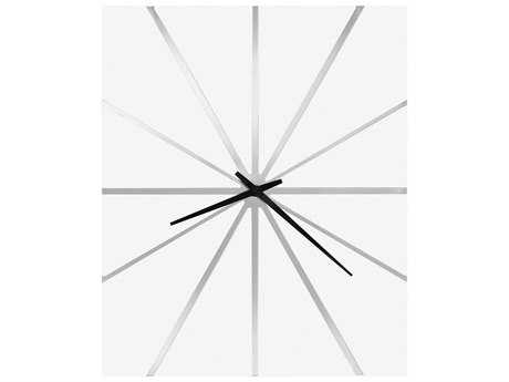 Howard Miller Zander Chrome Wall Clock