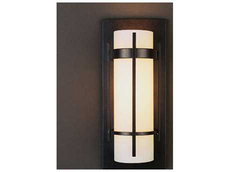 Hubbardton Forge Banded Fluorescent Wall Sconce HBF205892F