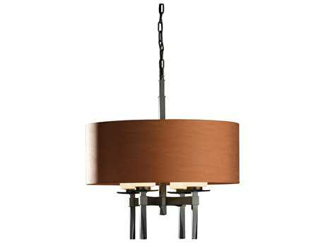 Hubbardton Forge Beacon 22'' Wide Four-Light Incandescent Chandelier HBF104815