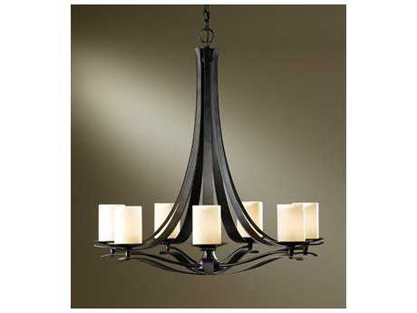 Hubbardton Forge Berceau 32'' Wide Seven-Light Fluorescent Chandelier