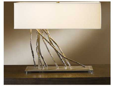 Hubbardton Forge Brindille Two-Light Incandescent Table Lamp HBF277660