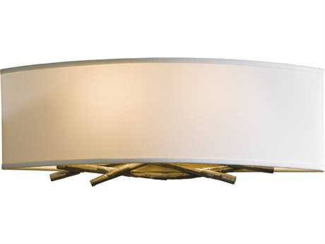 Hubbardton Forge Brindille Two-Light Incandescent Wall Sconce HBF207660