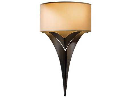 Hubbardton Forge Calla Two-Light Incandescent Wall Sconce