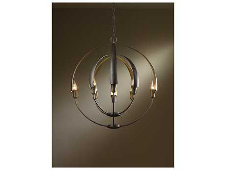 Hubbardton Forge Cirque 26'' Wide Eight-Light Incandescent Chandelier HBF104205