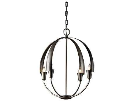 Hubbardton Forge Cirque 19'' Wide Four-Light Incandescent Mini-Chandelier HBF104201