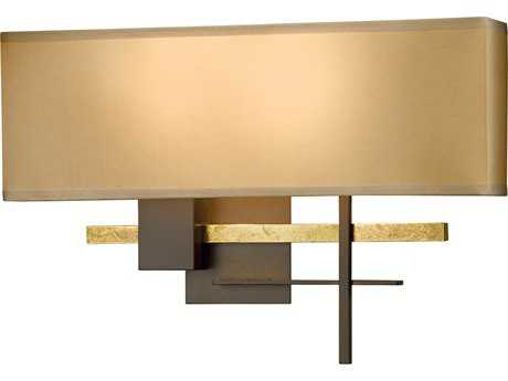 Hubbardton Forge Cosmo Two-Light Incandescent Vanity Light HBF206350BR
