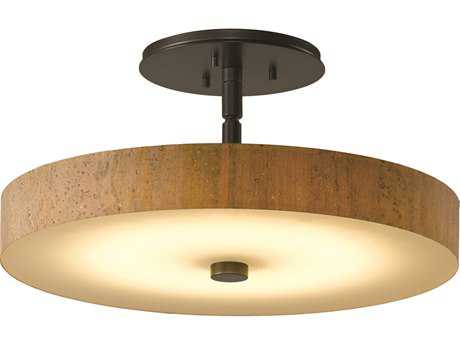 Hubbardton Forge Disq LED Semi-Flush Mount Light HBF126803D