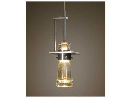 Hubbardton Forge Erlenmeyer Incandescent Rail/ Track Canopy 4'' Wide Mini Pendant Light  HBF161065T82ZM349