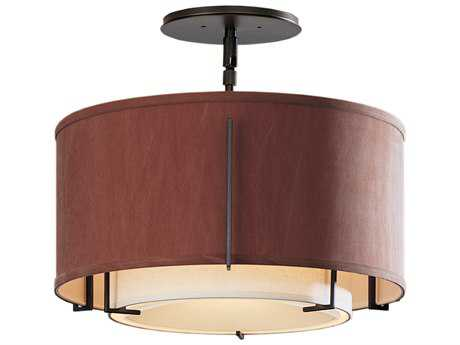 Hubbardton Forge Exos Semi-Flush Mount Light HBF126501