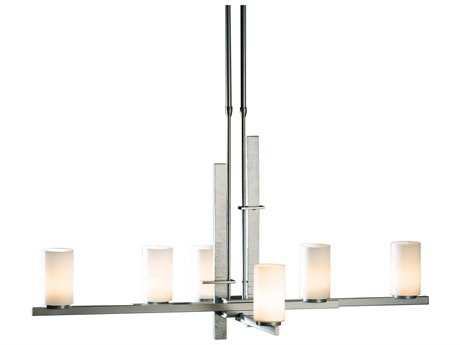Hubbardton Forge Ondrian 25'' Wide Six-Light Fluorescent Chandelier HBF136305F