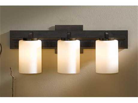 Hubbardton Forge Ondrian Three-Light Fluorescent Vanity Light HBF206303F