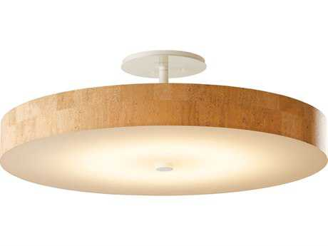 Hubbardton Forge 23'' Wide LED Semi Flush Light
