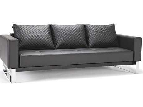 Innovation Cassius Q Deluxe Sofa Bed with Chrome Legs